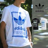 【GT】Adidas Originals 黑白 短袖T恤 運動 休閒 純棉 素色 印花 上衣 短T 愛迪達 基本款 Logo