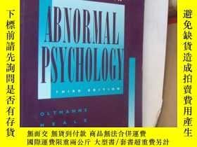 二手書博民逛書店Case罕見Studies in Abnormal Psycho
