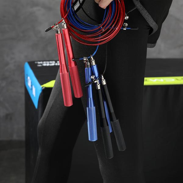 跳繩 鋁合金 萬向 球 軸承 國際賽用 競技跳繩 高速跳繩 極速跳繩 有氧運動 鋼絲 高轉速8018