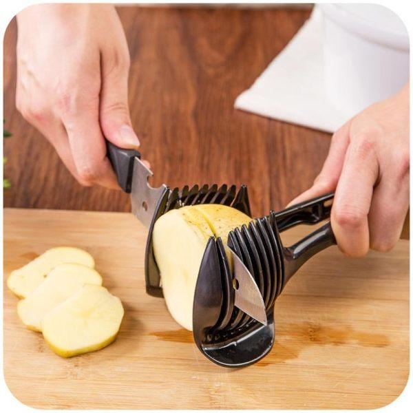 [超豐國際]切檸檬神器圓形拼盤切片器 創意廚房小用品工具水果分離
