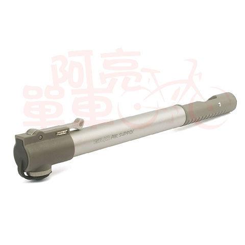 *阿亮單車*GIYO 輕巧高壓打氣筒(GM-20L)銀灰色《C74-M20L》