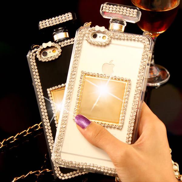 三星 J7 2016 J5 2106 A7 2016 手機殼 水鑽殼 客製化 訂製 防摔 香水瓶 簡約邊鑽
