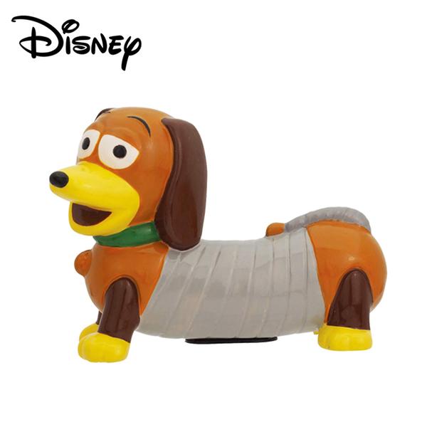 【日本正版】彈簧狗 造型存錢筒 儲金箱 小費箱 擺飾 玩具總動員 迪士尼 Disney - 250852