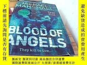 二手書博民逛書店英文原版罕見Michael marshall--blood of