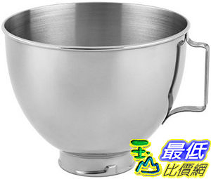 [104美國直購] 不銹鋼碗 KitchenAid Stainless Steel Bowl K45SBWH 4.5-Quart