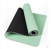 TPE瑜伽墊女防滑無味家用加厚加寬66CM加長初學者男健身瑜珈墊子 酷男精品館