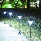 太陽能燈戶外家用草坪燈超亮路燈led庭院燈防水柱  創想數位igo