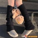 復古素色堆堆襪瘦腿襪套襪子女日系原宿風中筒襪泡泡襪【公主日記】【小獅子】