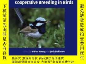 二手書博民逛書店Ecology罕見And Evolution Of Cooperative Breeding In Birds