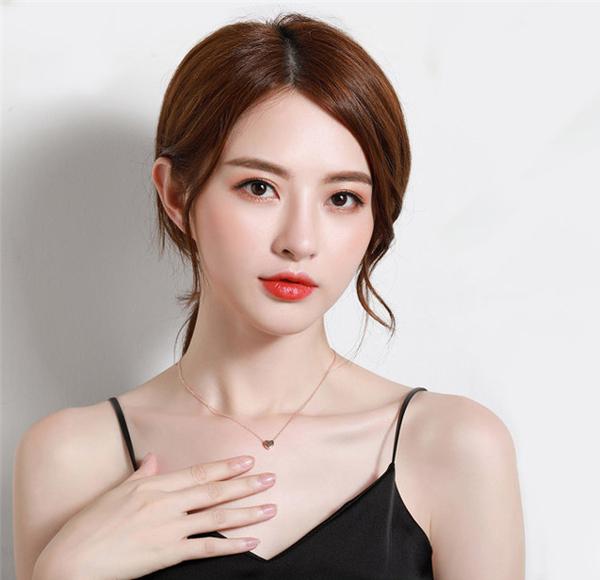 素簡手作韓國玫瑰金項鍊鎖骨鍊珍珠項鍊 現+預【RN012-1】