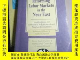 二手書博民逛書店Reforming罕見Labor Markets in the