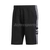 adidas 短褲 Originals Shorts 黑 白 男款 棉褲 運動休閒 【PUMP306】 FM9878