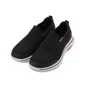 SKECHERS 健走系列 GOWALK 5 套式休閒鞋 黑白 55500BLK 男鞋