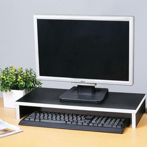桌上架《YoStyle》簡約桌上螢幕架-黑色 桌上架 螢幕架 置物架 萬用架 鍵盤收納