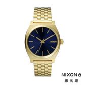 【官方旗艦店】NIXON TIME TELLER 極簡小錶款 金藍 潮人裝備 潮人態度 禮物首選