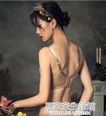 內衣女小胸聚攏無鋼圈調整型文胸夏季薄款大胸顯小性感套裝胸罩 中秋節全館免運