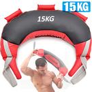 15KG保加利亞訓練袋負重包健身袋抓舉甩...