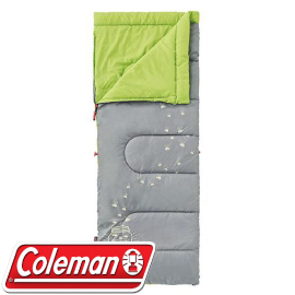 【Coleman 美國 夜光型兒童睡袋 C7 萊姆綠】 CM-22259/兒童睡袋/睡袋★滿額送