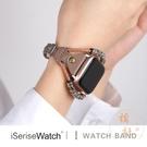 適用蘋果手表錶帶iwatch1/2/3/4/5apple watch民族風細時尚【橘社小鎮】