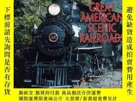 二手書博民逛書店The罕見Great American Scenic Railroads-偉大的美國風景鐵路Y443421 M