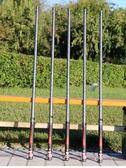 黑坑釣魚竿手竿超輕超硬19調台釣竿黑棍6H/8H10H暴力桿巨物戰斗竿 茱莉亞