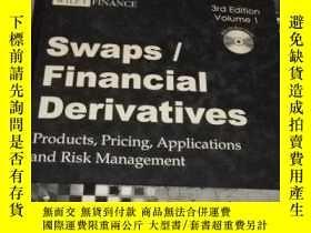 二手書博民逛書店swaps financial罕見derivatives products, pricing, applicati