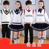 詩歌朗誦兒童演出表演服 中小學生大合唱服裝合唱團比賽校服男女 BT12231『優童屋』