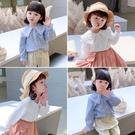 女童上衣 女童春裝襯衫2021新款韓版洋氣兒童春款衣服女襯衣時髦上衣潮【快速出貨八折特惠】