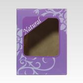 【香草工房】簡約皂盒紫色幻想10 入組