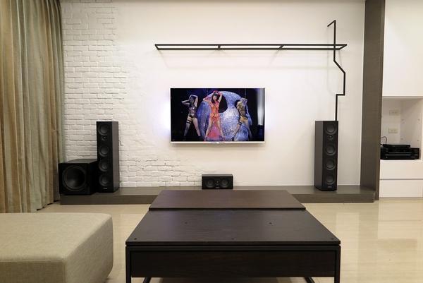 【名展影音-安裝規劃】隱身小豪宅裡的英國Mission VX3 5.1劇院組合