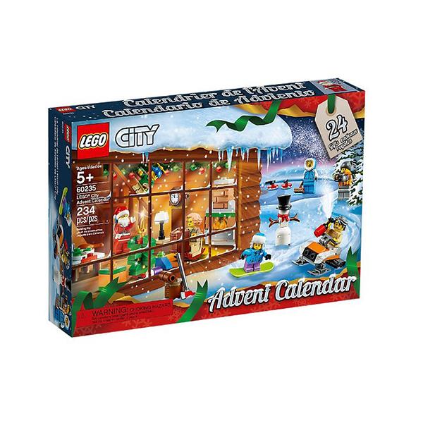 【LEGO 樂高積木】60235 City城市 聖誕倒數月曆 Advent Calendar (234pcs)