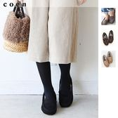 雪靴 平底鞋 莫卡辛鞋 懶人鞋 環保毛皮 現貨 免運費 日本品牌【coen】
