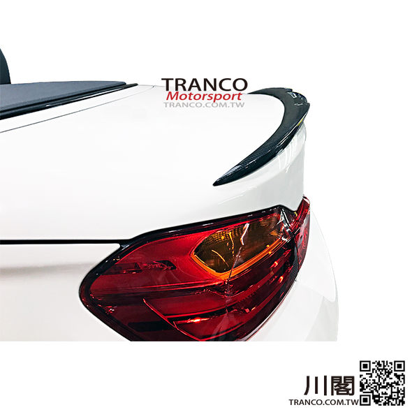 BMW F83 M4款 碳纖維尾翼 TRANCO 川閣