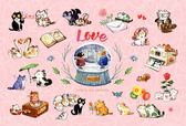 【拼圖總動員 PUZZLE STORY】LOVE PuzzleStory/afu/繪畫/70P/迷你