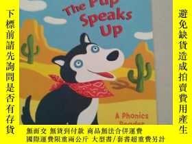 二手書博民逛書店The罕見Pup Speaks Up (Step-Into-Re