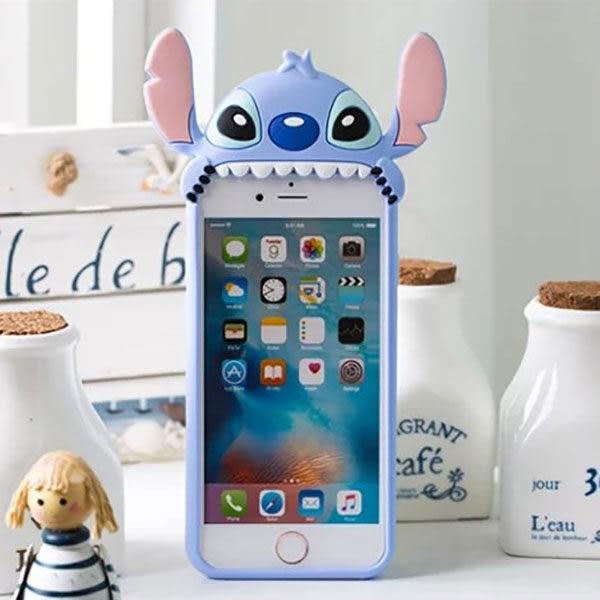 【紅荳屋】卡通趴趴史迪奇三星S7 S7edge Note5 S8 plus三星 A9 A8 SONY 華碩3 Selfie HTC728/820史迪仔手機殼