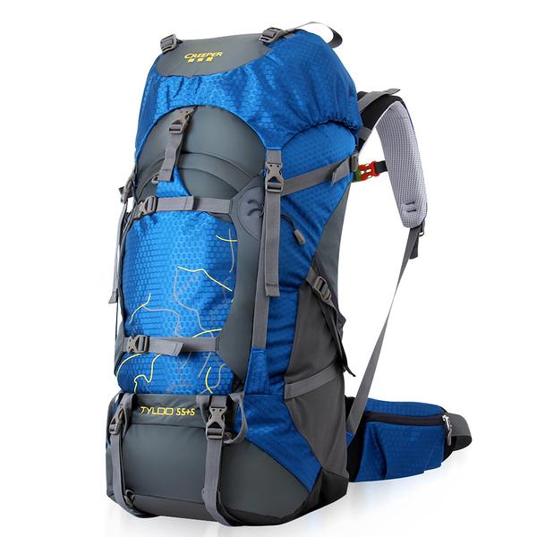 登山背包(中)-實用多隔層造型雙肩後背包4色57w12【時尚巴黎】