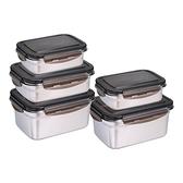 Neoflam 不鏽鋼保鮮盒含蓋 12件組
