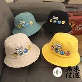 寶寶漁夫帽薄款嬰兒童帽子純棉春款男童遮陽太陽 夏季【君來佳選】