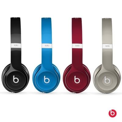 【台中平價鋪】潮牌首選 Beats Solo2 Luxe 耳罩式耳機 - 銀 時尚潮流感 先創公司貨 一年保固