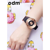 odm Jupiter 木星系列手錶-玫瑰金x黑/44mm DD159-04