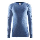 【速捷戶外】瑞典Craft 1903716 全天候長袖內著衣(男)-藍色, 滑雪 跑步 路跑 野跑 馬拉松 夜跑
