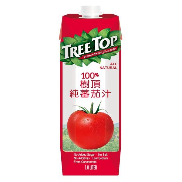 樹頂純番茄汁1000ml/瓶【合迷雅好物超級商城】