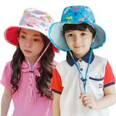 寶寶漁夫帽兒童帽子男童女童太陽帽盆帽薄款防曬遮陽帽天潮【全館免運】