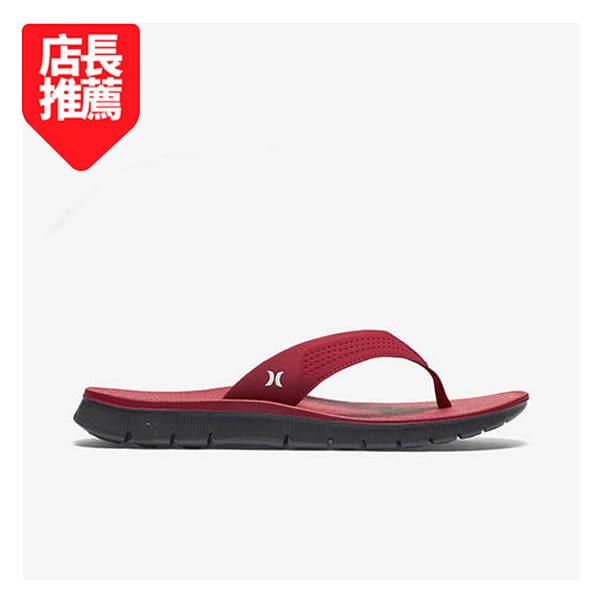 Hurley  - FUSION SANDAL 人字拖 - 男(紅)