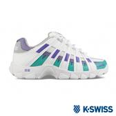 K-SWISS ST429老爹鞋-女-白/紫/綠