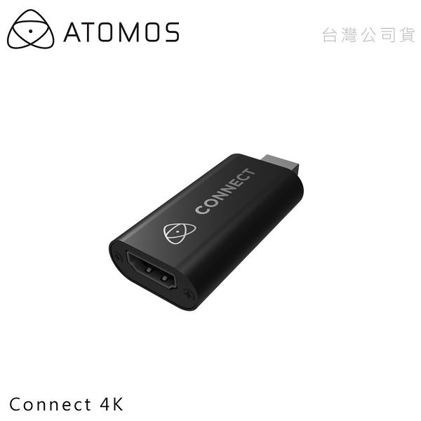 EGE 一番購】ATOMOS【Connect 4K】HDMI影像擷取器 相機直播轉接設備 支援OBS免驅動【公司貨】