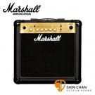 Marshall MG15 Gold 電吉他音箱 經典金色面板(15瓦/15w)MG15G / MG-15G 電吉他音箱專賣店
