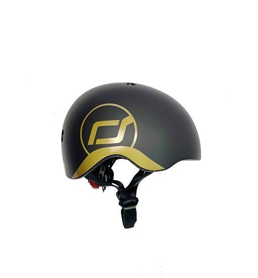 奧地利 Scoot & Ride Cool 幼兒安全帽/頭盔- 黑金 XXS(Asia) 兒童運動用頭盔.防護帽