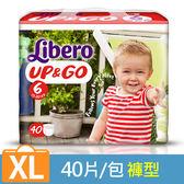 麗貝樂 敢動褲6號-XL 超薄型 (40片/包)